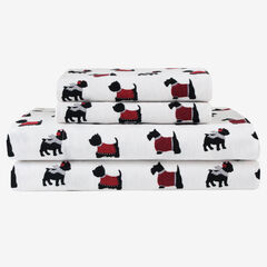Flannel Printed Sheet Set,