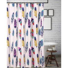 Dream Catcher Teal Shower Curtain by Greenland Home Fashions, TEAL