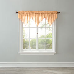 BH Studio Crushed Voile Ascot Valance, AMBER