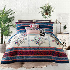 Jessica Simpson Verbena 3-Pc. Comforter Set, BLUE