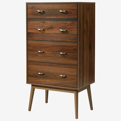 Montage Mid-Century 4 Drawer Chest,