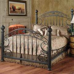 Hillsdale Chesapeake Queen Bed with Side Rails,
