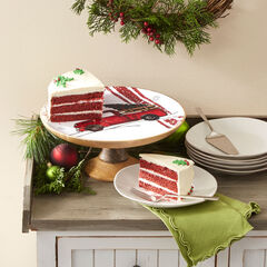 Retro Red Truck Cake Stand,
