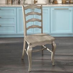 Mountain Lodge Bar Pair of Chairs by Home Styles, MULTI GRAY