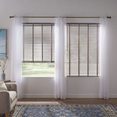 """2"""" Faux Wood Cordless Blind ,"""