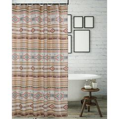 Phoenix Tan Shower Curtain by Barefoot Bungalow, TAN