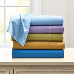 300-TC. Smooth Wrinkle-Resistant Cotton Sheet Set,