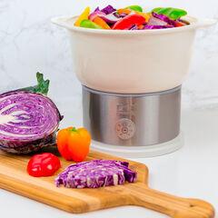 Kalorik Digital Ceramic Steamer, WHITE