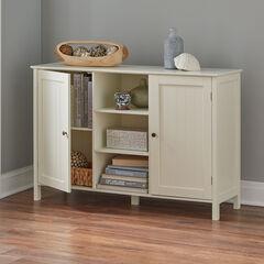 Adelaide 2-Door Cabinet with Shelves,