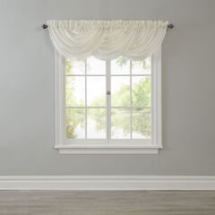BH Studio Crushed Taffeta Waterfall Valance,