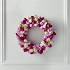 Tulip Wreath,