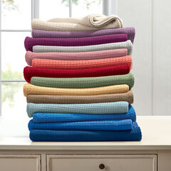 BH Studio Primrose Cotton Blanket,
