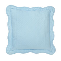 "Florence 16"" Square Pillow, SKY BLUE"