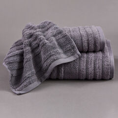 Platinum Zero Twist Open Stock Towels, CREST GRANITE