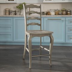 Mountain Lodge Counter Stool by Home Styles, MULTI GRAY