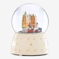 Lenox® Musical Animated Holiday Train Globe, MULTI