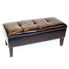Blackstone Storage Bench by 4D Concepts, BROWN