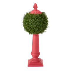 Ball Topiary Column,