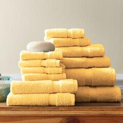 12-Pc. Zero-Twist Bath Towel Set,