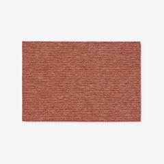 """Carmel Indoor/Outdoor Textured Solid Rug 3'3"""" x 4'11"""", RED"""