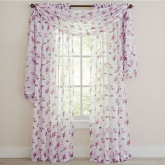 Chancellor Crushed Voile Scarf Valance,
