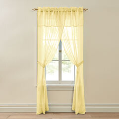 BH Studio Crushed Voile 5-Pc. One-Rod Set,