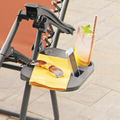 Zero Gravity Chair Clip-on Table,