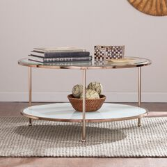 Risa Cocktail Table, GOLD