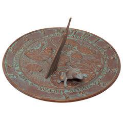 Frog Sundial,
