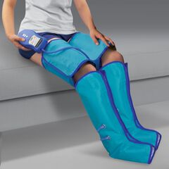 Air Compression Leg Wraps, BLUE
