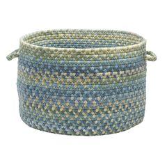 Rustica Basket by Colonial Mills, BLUE