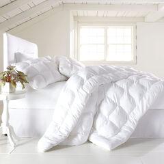 200-TC Cotton Puff Comforter, WHITE