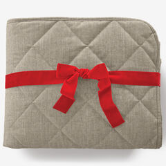 Quilted Water-Resistant Pet Throw, TAUPE