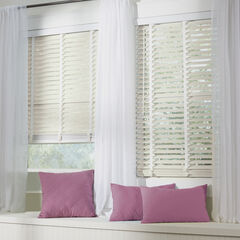"2"" Faux Wood Cordless Blind ,"