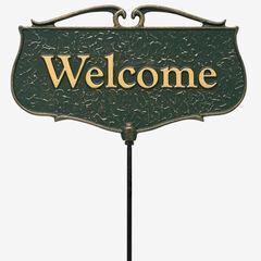 Welcome Garden Entryway Sign,