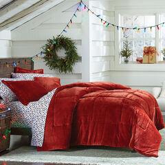 BH Studio Microfleece Comforter, PAPRIKA