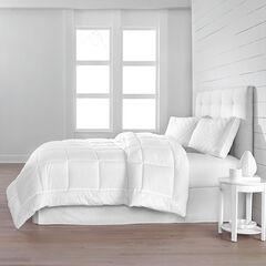 Adoria Eyelet Comforter, WHITE