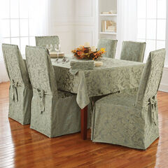 13-Pc. Damask Table Linen Set,