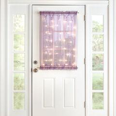 """40"""" Pre-Lit Door Panel,"""