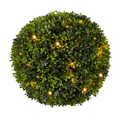 Pre-Lit Topiary Ball,
