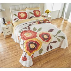 Bloom Chenille Shams, MARIGOLD