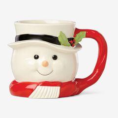 Lenox Holiday Mugs, SNOWMAN
