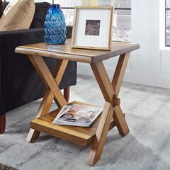 Forest Retreat End Table by Home Styles, WOOD