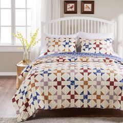 Savannah Ivory Quilt Set by Barefoot Bungalow, IVORY