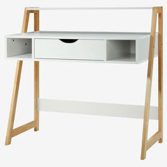 Heidi Collection Desk, NATURAL WOOD
