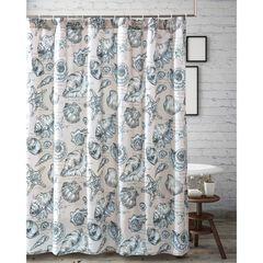 Cruz Shower Curtain by Barefoot Bungalow, LINEN