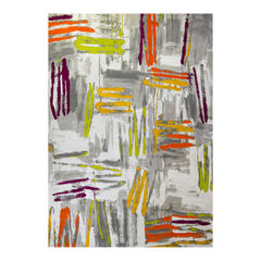 Large Abstract Lines Rug ,