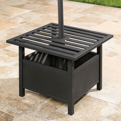 Umbrella Stand Side Table, OIL RUBBED BRONZE