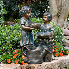 Boy and Girl Fountain, BRONZE