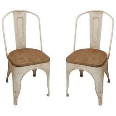 Farmhouse Chairs, WHITE